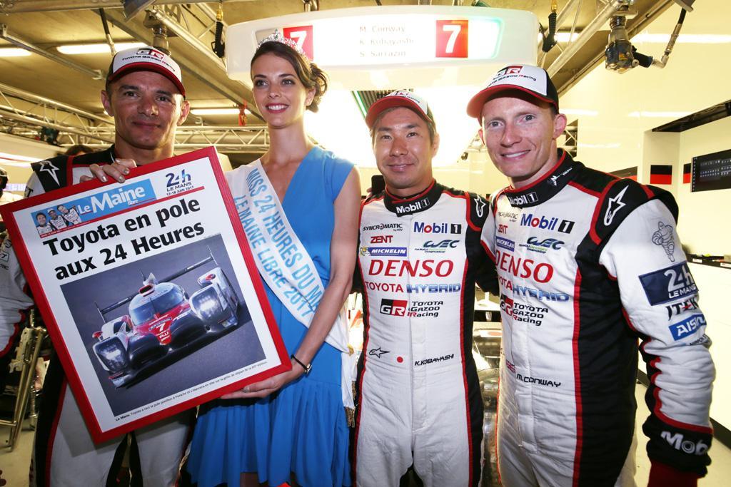 Motorsport Toyota Dominates Le Mans Qualifying Www Carsales Com Au