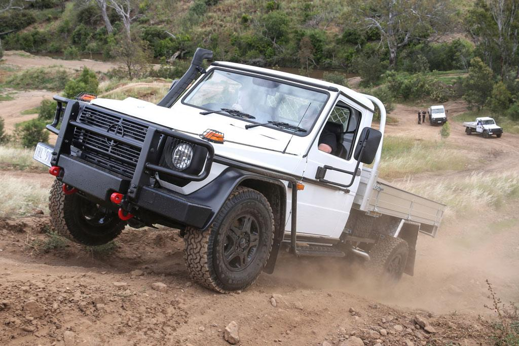 Mercedes-Benz G-Class Cab Chassis 2016 Review - www carsales com au