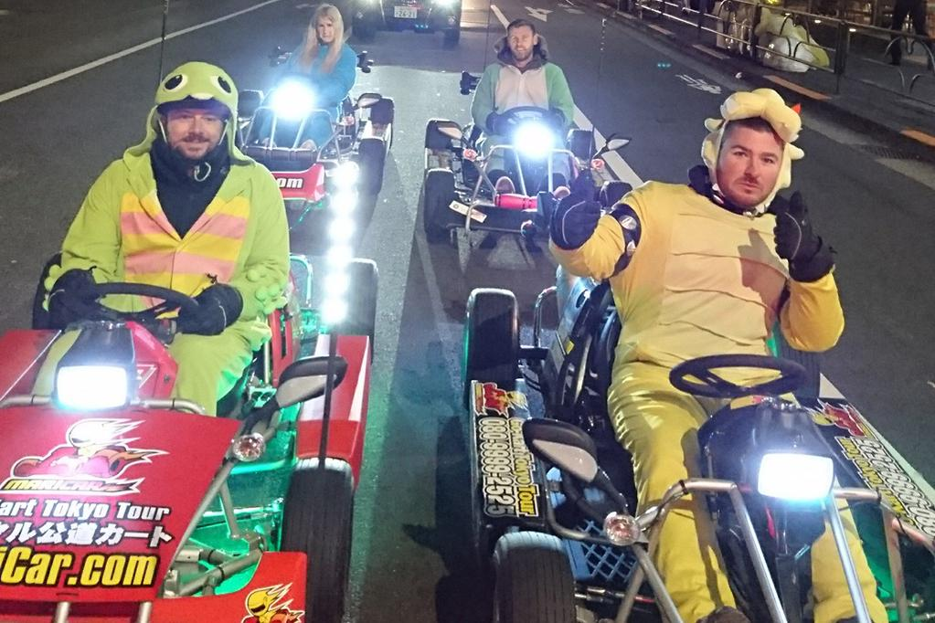 Mario Karting In Japan Www Carsales Com Au