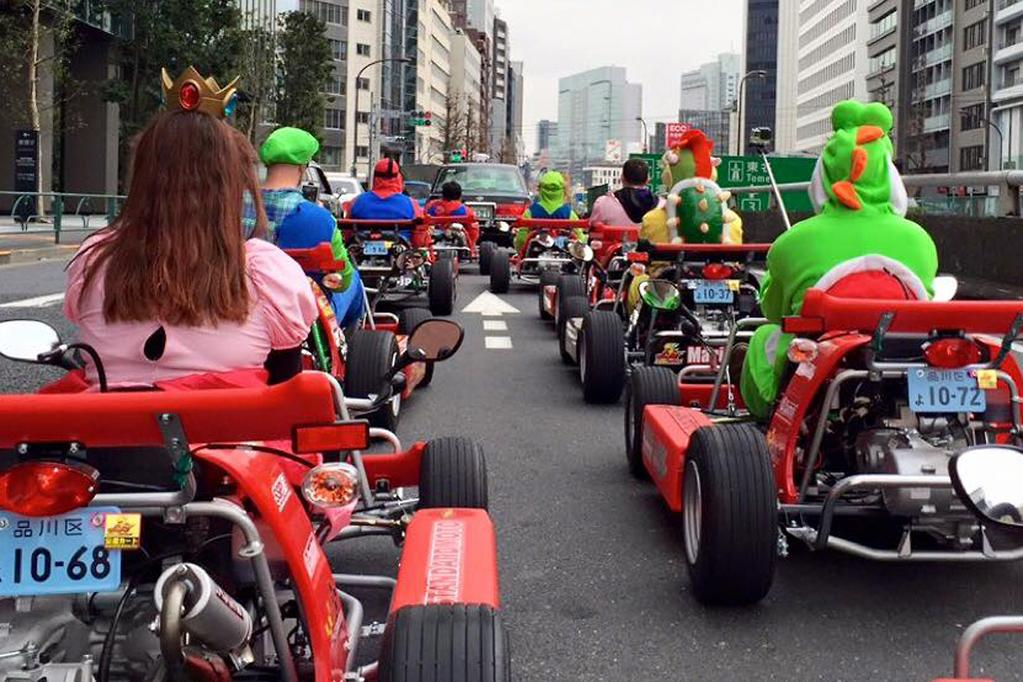 Mario karting in Japan - www carsales com au