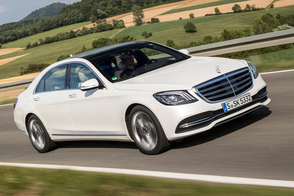 The Electrified S 450 And 500 Inline Six Cylinder Vehicles Will Be Joined By Eight 12 Variants Of Cl Too Including 560