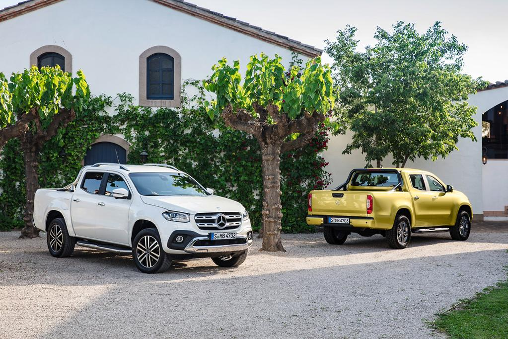 68f1395c5ff5 Mercedes-Benz says that besides the evident sheet-metal and in-cabin  changes the X-Class presents