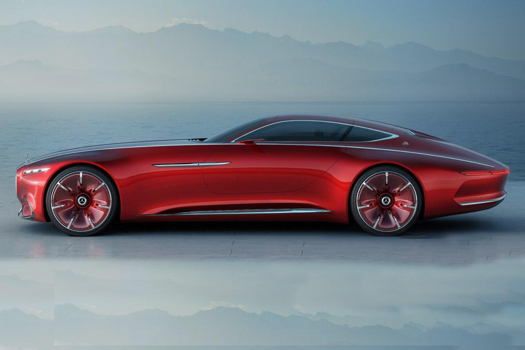 Vision Mercedes Maybach 6 Coupe Revealed