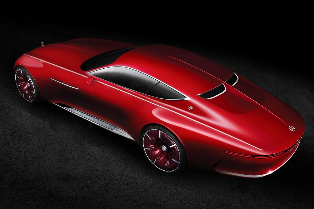 vision mercedes-maybach 6 coupe revealed - www.carsales.au