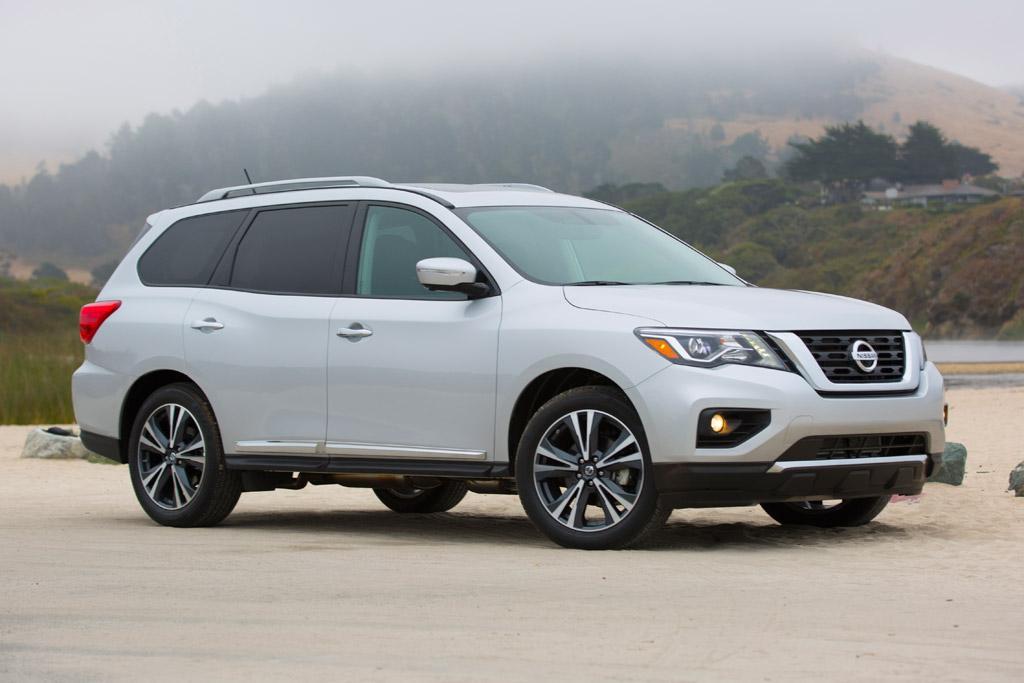 2017 Nissan Pathfinder Bobs Up