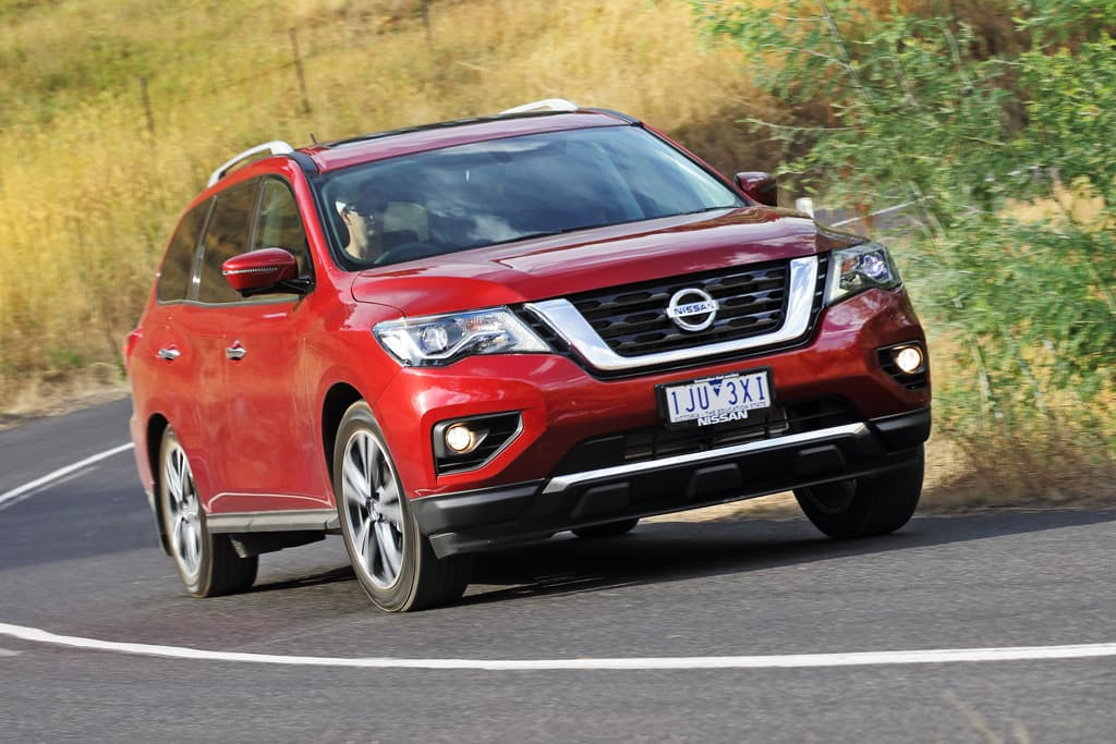Nissan Pathfinder 2017 Review