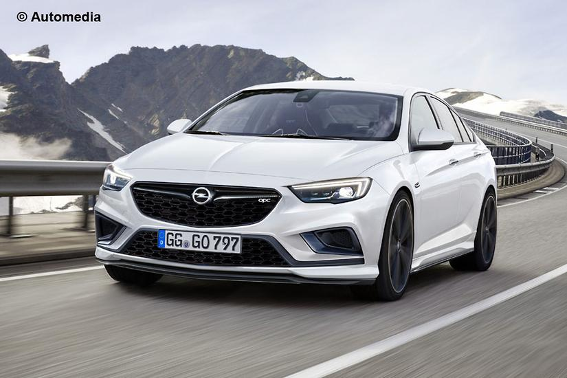 Opel Insignia OPC previews hot 2018 Commodore - www carsales