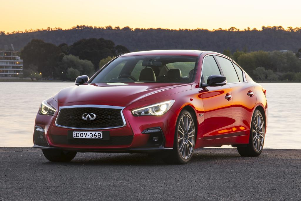 Infiniti Q50 Red Sport 2017 Review