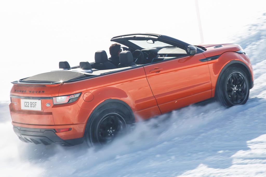Range Rover Evoque Convertible 2016 Review