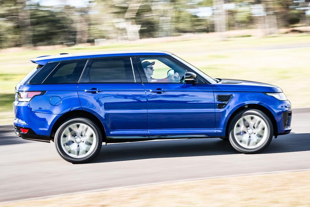 Top eight quickest SUVs - www carsales com au