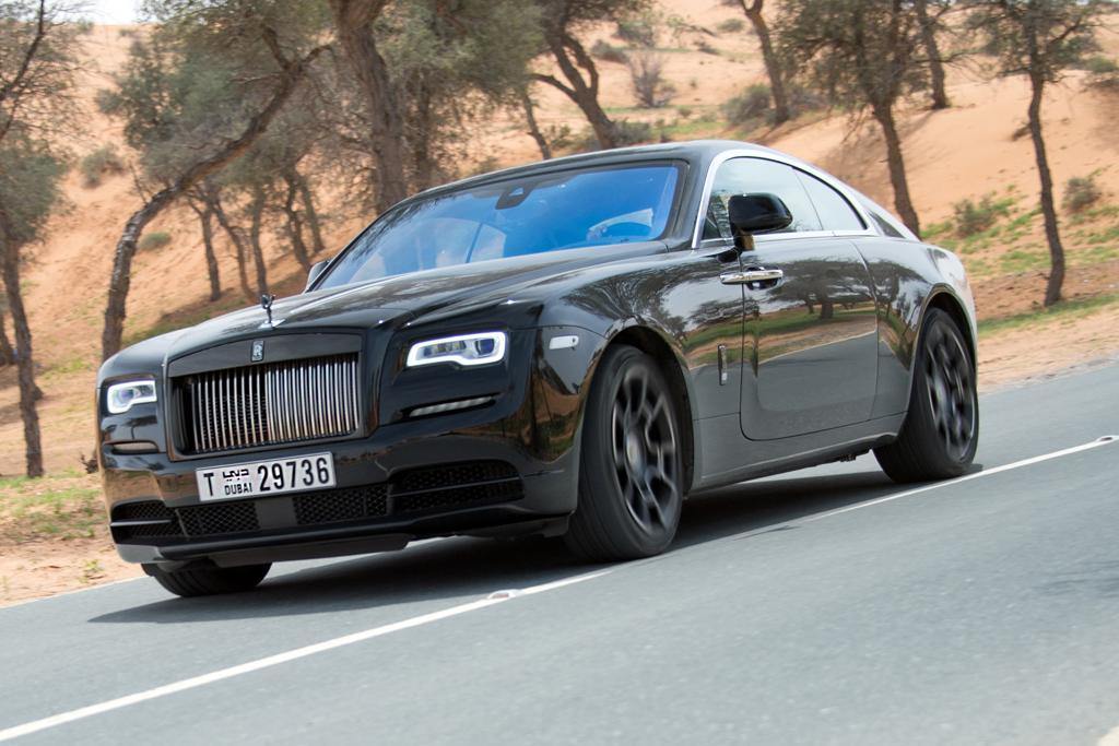 Rolls Royce Wraith Black Badge 2017 Review