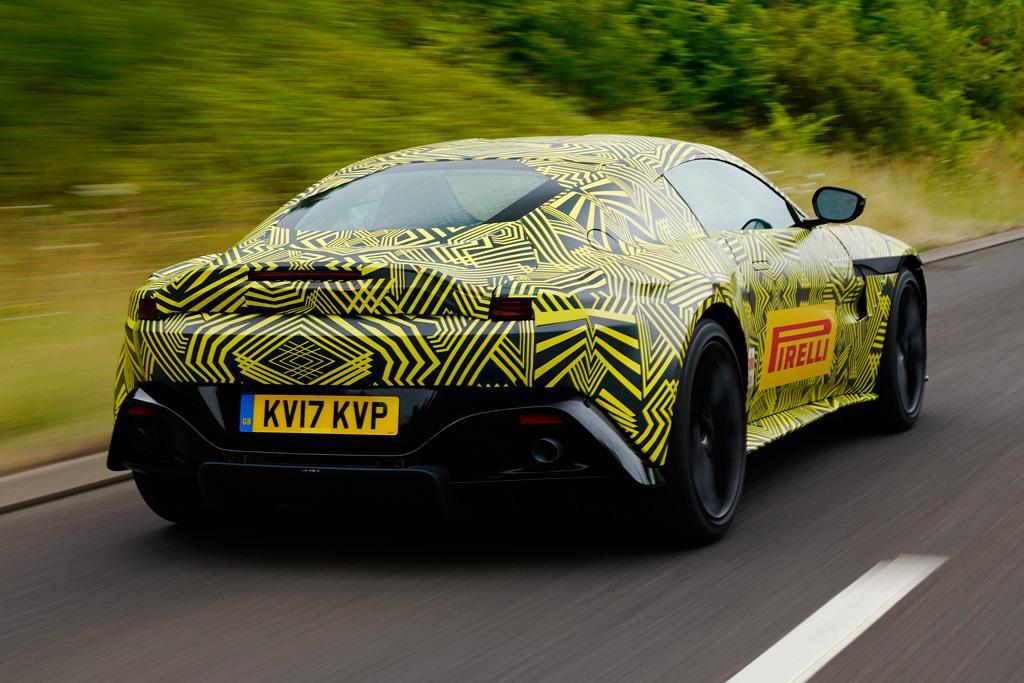SPY PICS: Next-gen Aston Martin Vantage - www.carsales.com.au