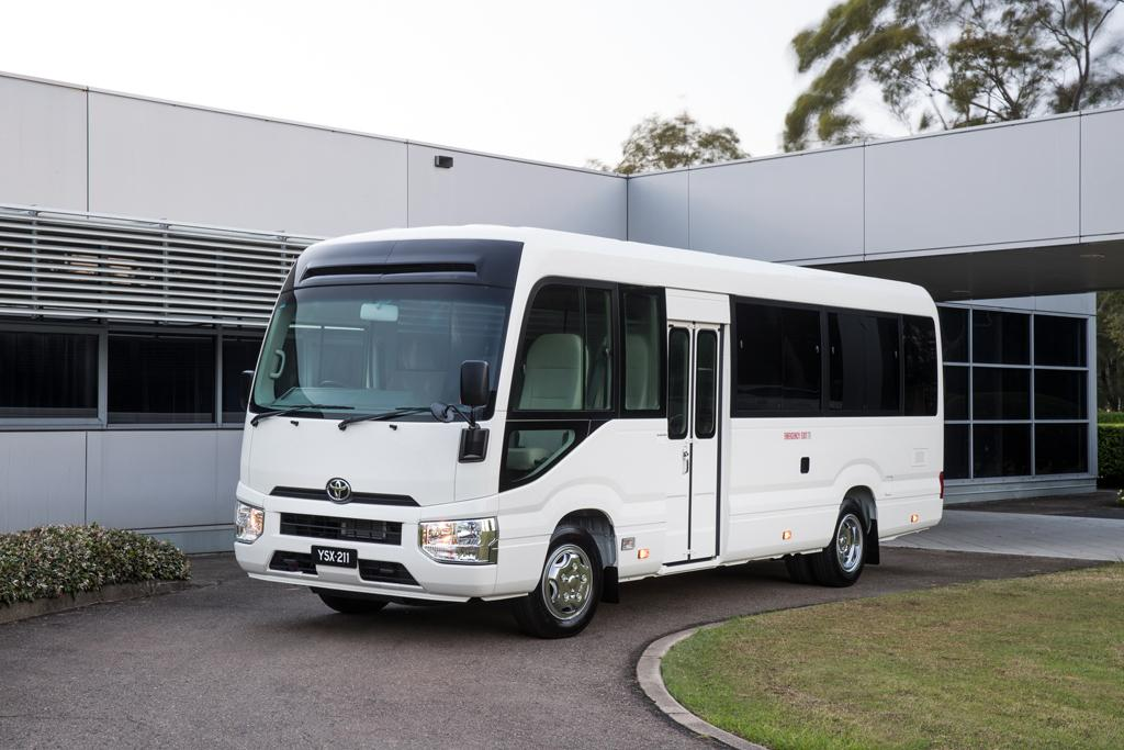 5ab82923a6 Toyota rolls out Coaster revamp - www.carsales.com.au