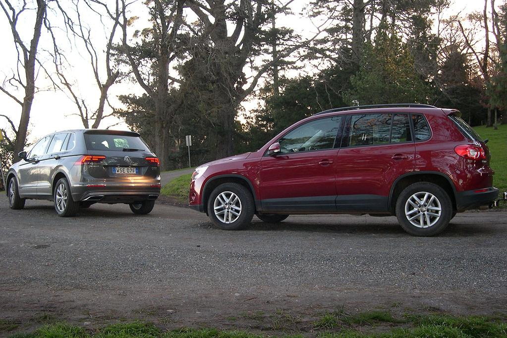 Volkswagen Tiguan: Old & New Review - www carsales com au