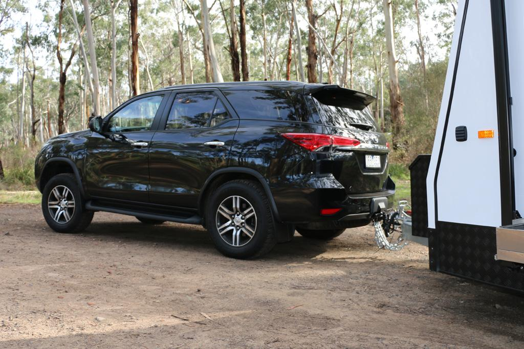 Toyota Fortuner 2016 Tow Test Www Carsales Com Au