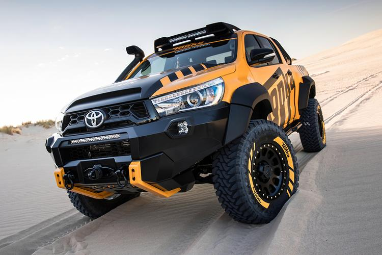Wheels Tires Tonka4wheeldrive Com >> Toyota Reveals Life Sized Hilux Tonka Truck Www Carsales Com Au