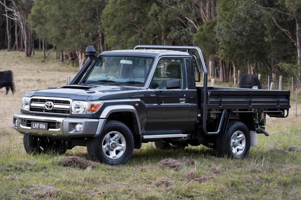 Toyota tunes its last 70 Series LandCruiser - www carsales com au