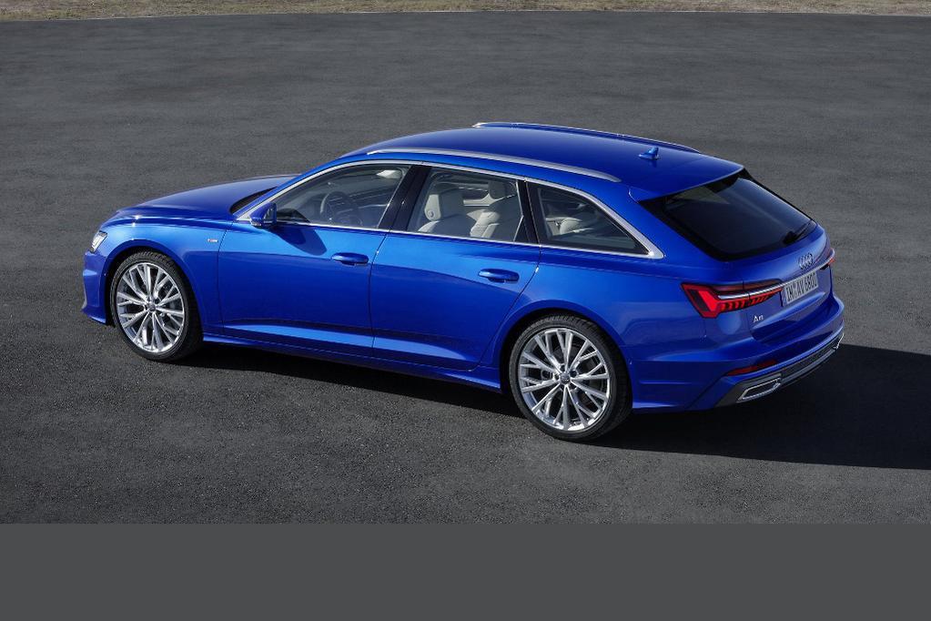 More Stylish New Audi A Avant Revealed Wwwcarsalescomau - Audi a6 wagon