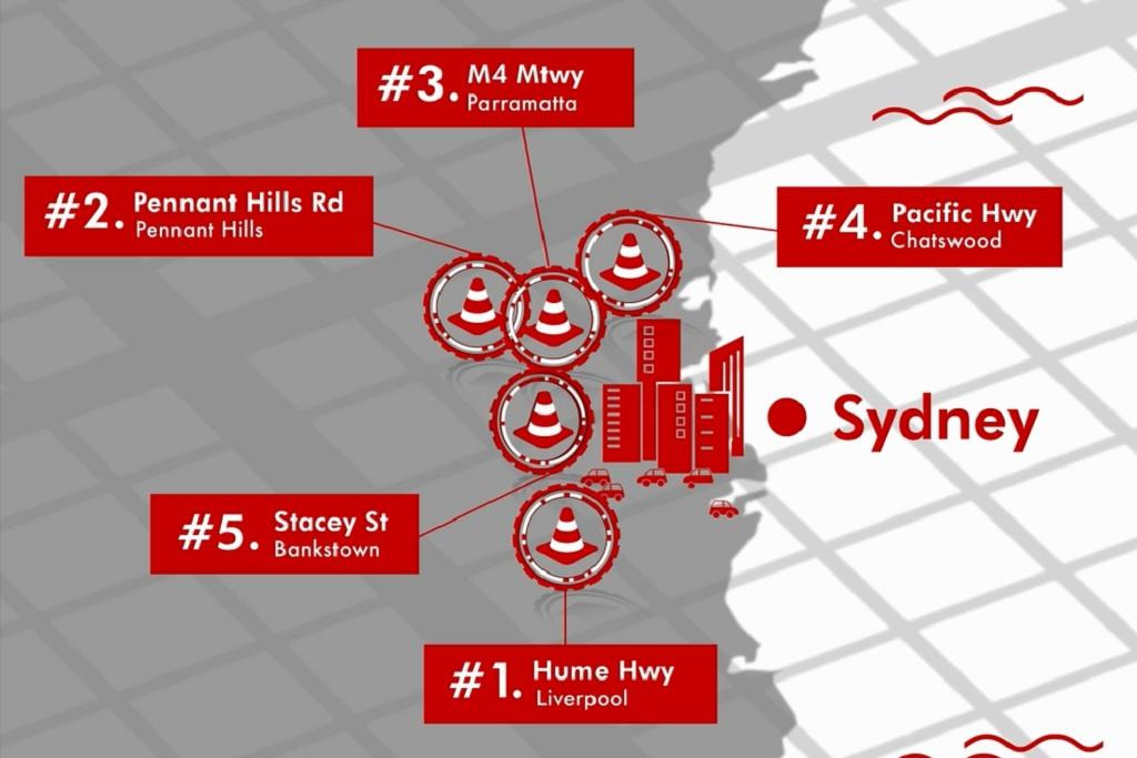 Australia's worst road accident hotspots named for 2018 - www