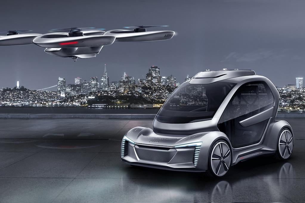 Designed With Italdesign Theoriginal Airbus Pop Upwas Revealed A Year Ago And Now It Has Been Revamped The Help Of Audi Which Is Supporting
