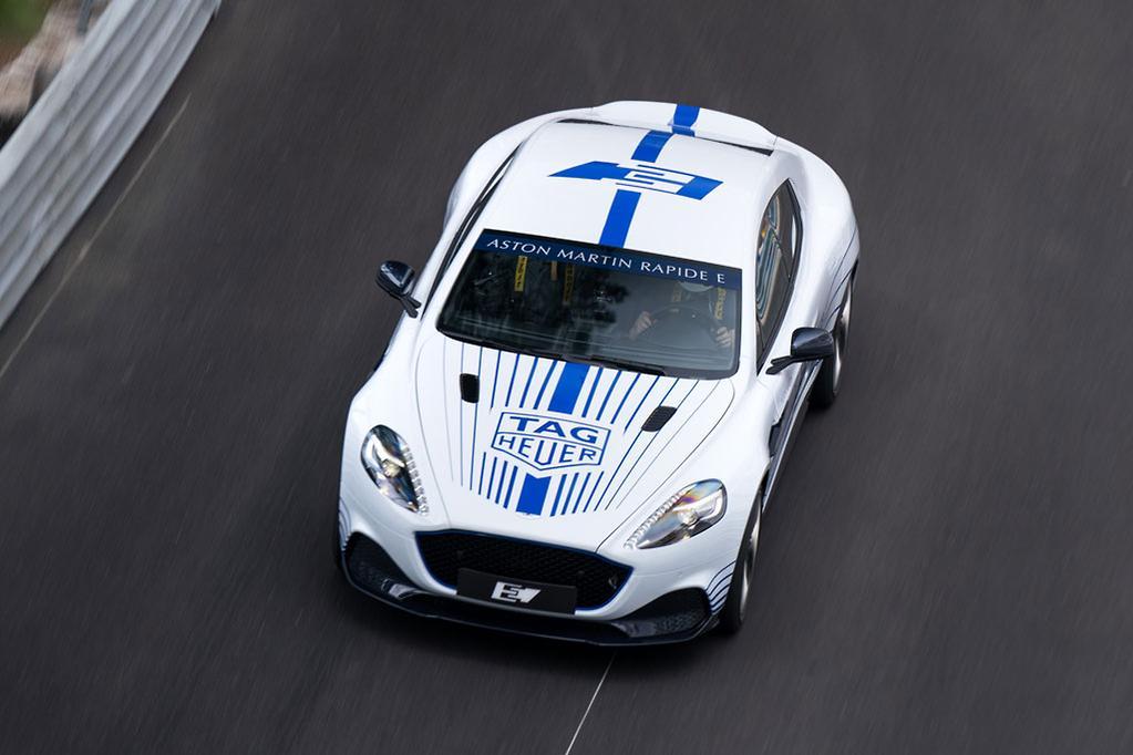 Aston Martin Rapide E Laps Monaco Carsales Com Au