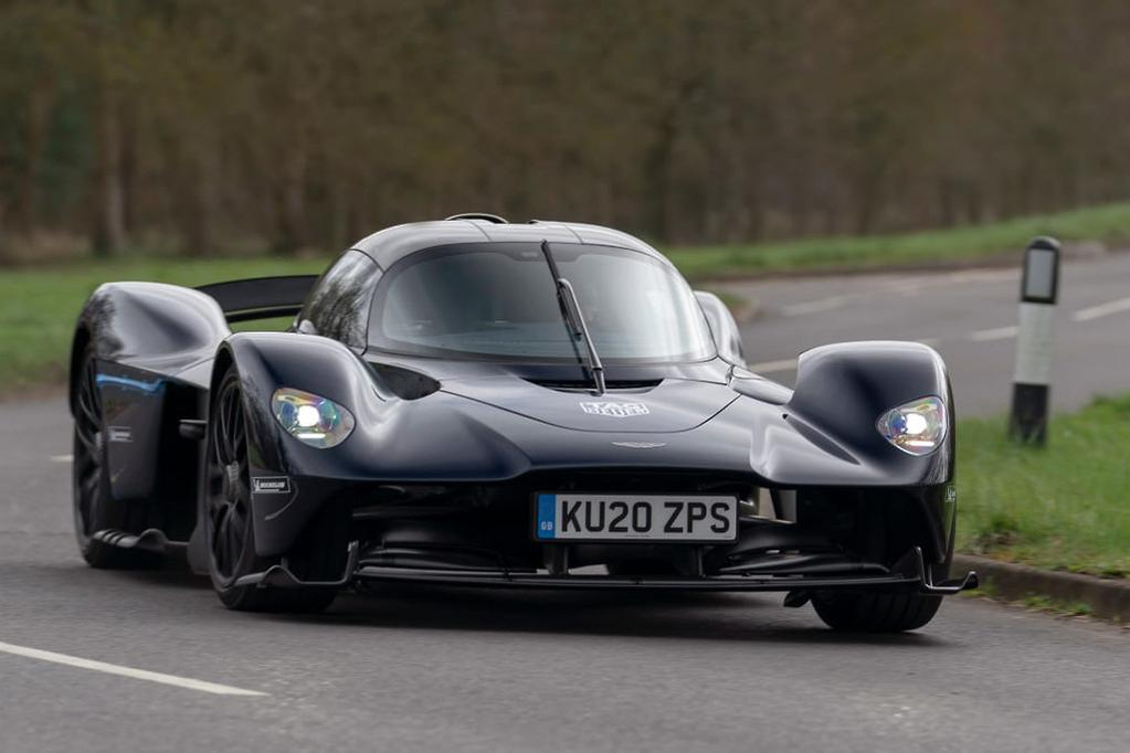 Aston Martin Valkyrie Hits The Road For The First Time Carsales Com Au