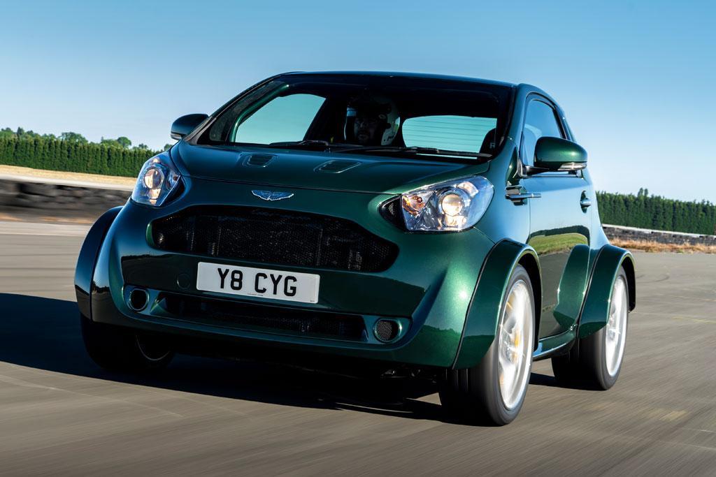 Aston Martin V8 Cygnet is bonkers - www carsales com au