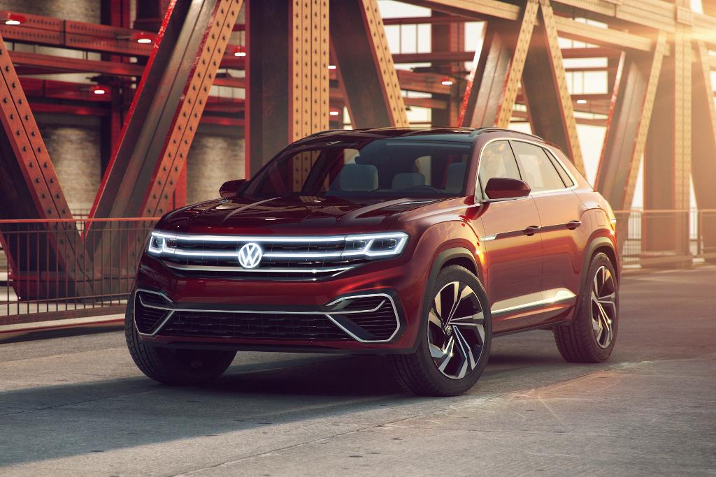 New York Motor Show Volkswagen Shows Off Cross Coupe Www Carsales