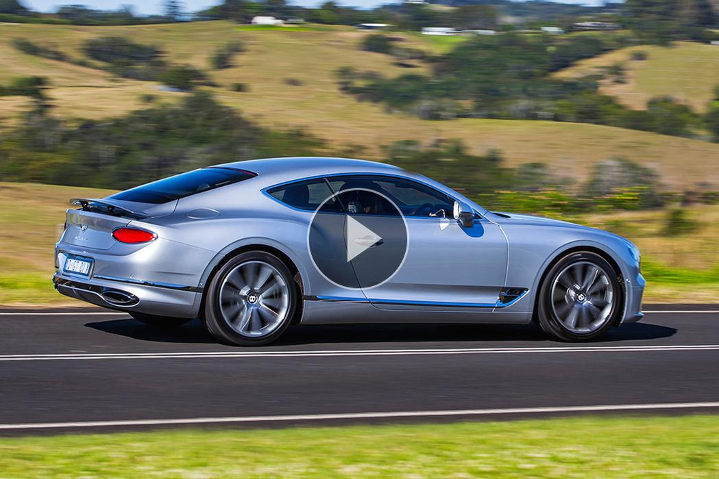 Bentley Continental Gt 2018 Video Review Www Carsales Com Au