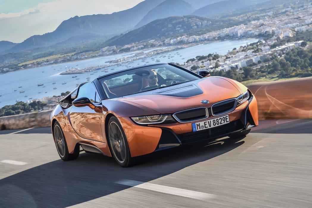 The Electric Bmw I8 T