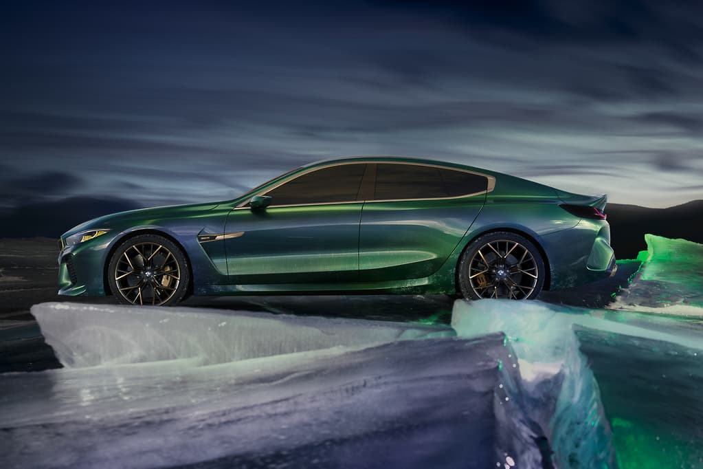 Geneva Motor Show Bmw Wows With Concept M8 Gran Coupe Www