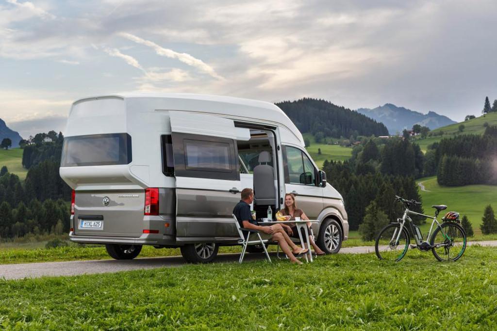 Volkswagen Unveils Luxurious Crafter Based Camper Van Www Carsales