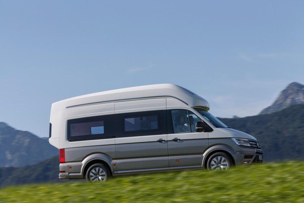 Volkswagen unveils luxurious Crafter-based camper van - www carsales