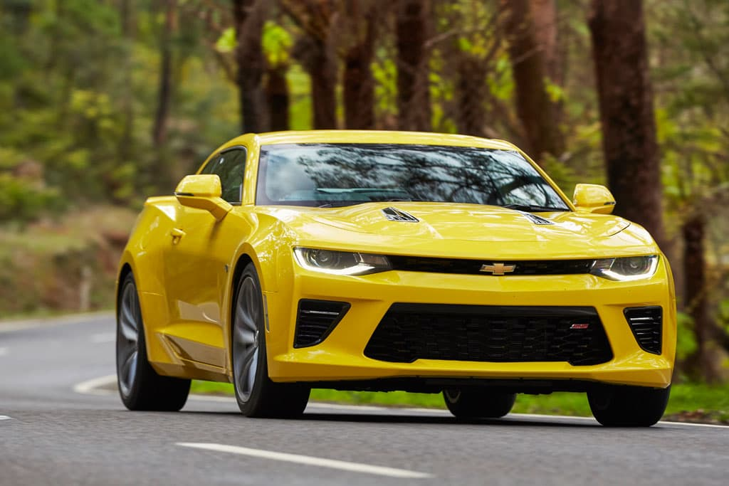 Chevrolet Camaro 2018 Review Carsales