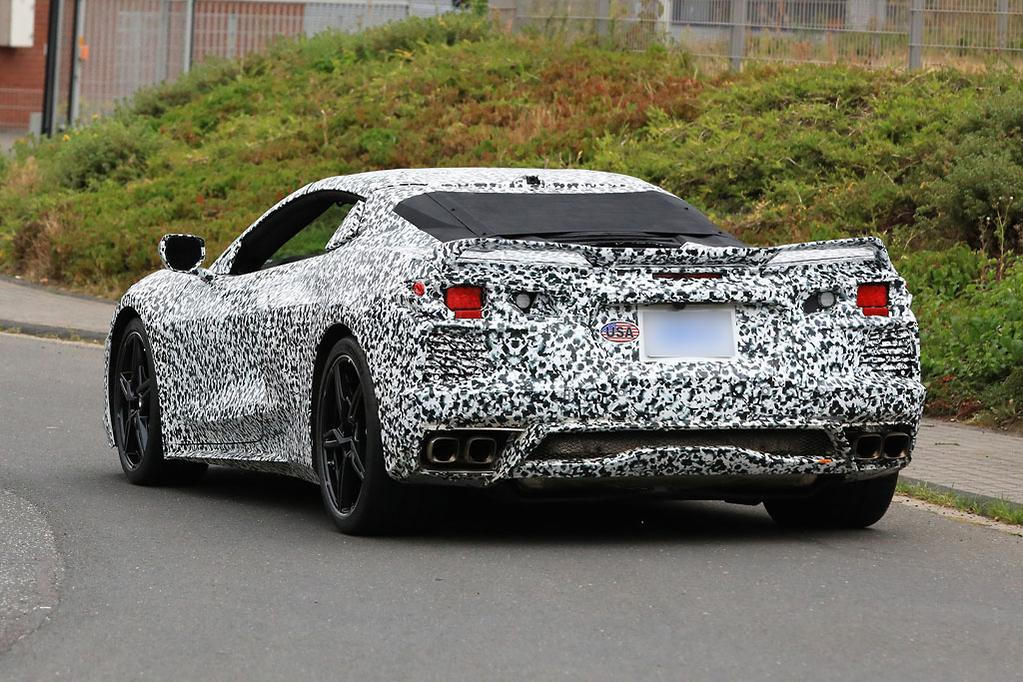 SPY PICS: Best look yet at 2020 Chevrolet Corvette - www