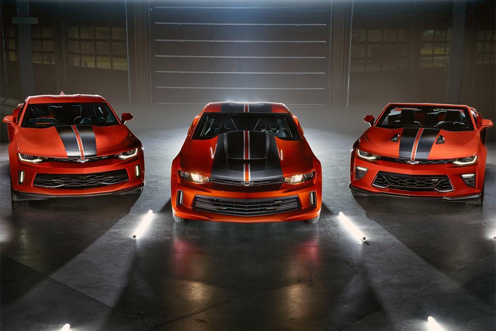 Chevrolet reveals Camaro dragster - www carsales com au