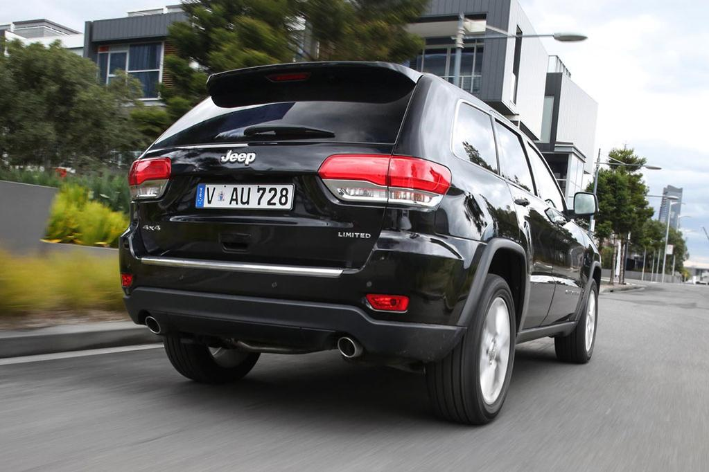 Jeep grand cherokee 2018 review carsales the limited v6 petrol is 62500 plus on road costs but if you get in quick youll get a 2000 factory bonus on my17 limited v6 petrol until publicscrutiny Choice Image
