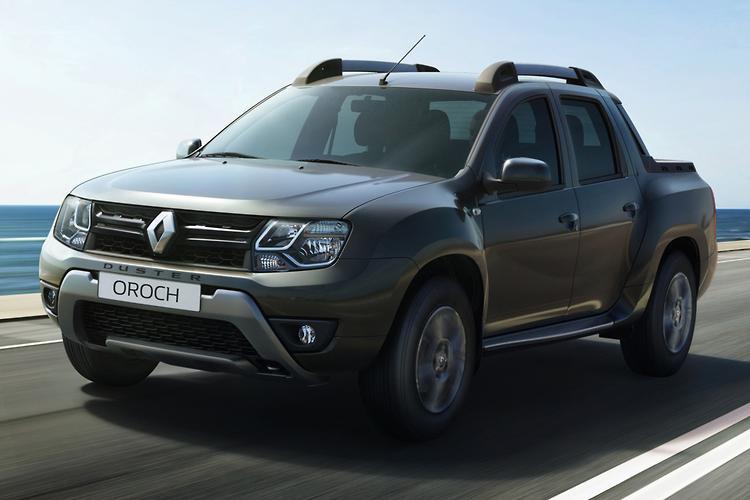 Renault dual cab ute
