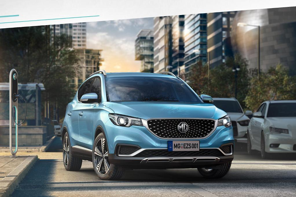 MG eZS is Chinese brand's first pure-electric car - www