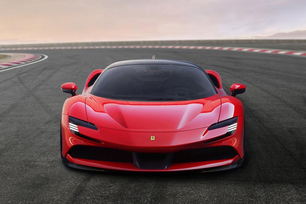 Plug-in Ferrari SF90 Stradale shocks - www carsales com au