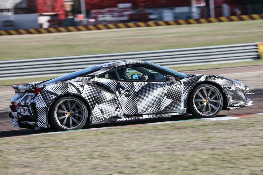 Ferrari V8 Hybrid Mid Engine Supercar To Launch In 2019 Www