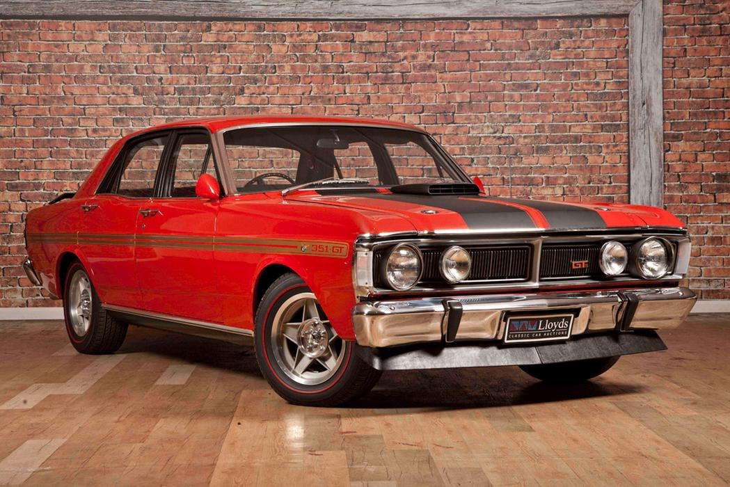 Ford Falcon GTHO Phase III sets auction record