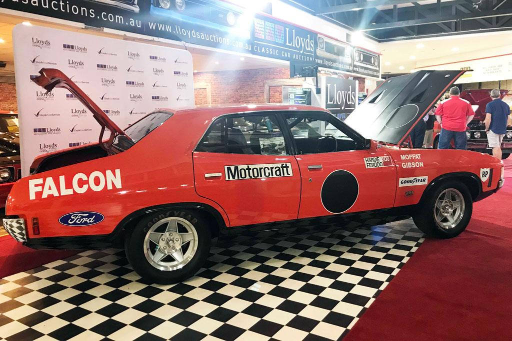 Rare Ford Falcon Gtho Phase Iv Fetches Record Sum