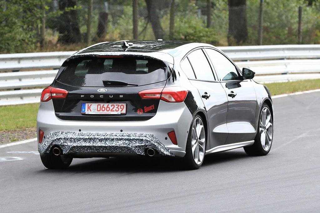 The Spy Photographers Who Nabbed Photos Of New Focus St Reckon Car Is Good For 275hp Or 205kw Time Will Tell