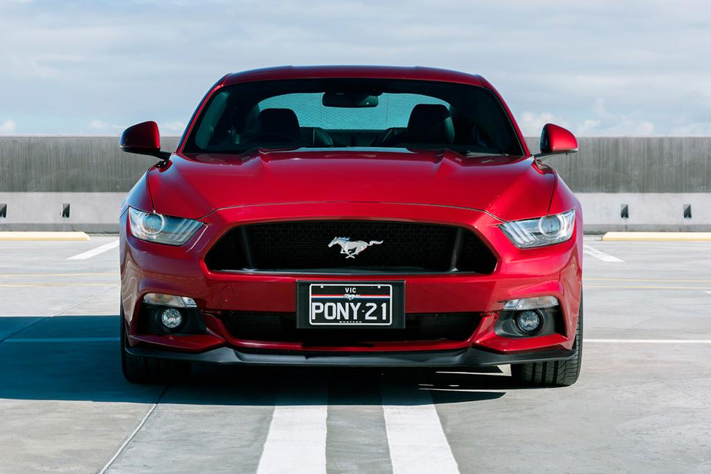Ford Mustang springs a leak - www carsales com au
