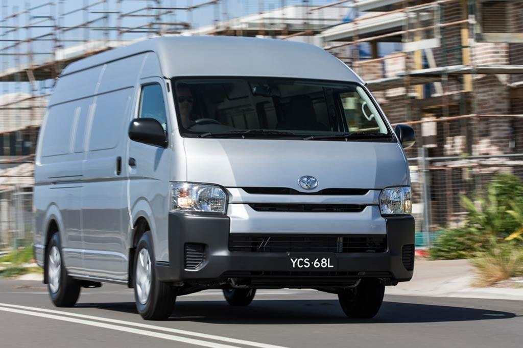 8209c91177 Revised HiAce on sale - www.carsales.com.au