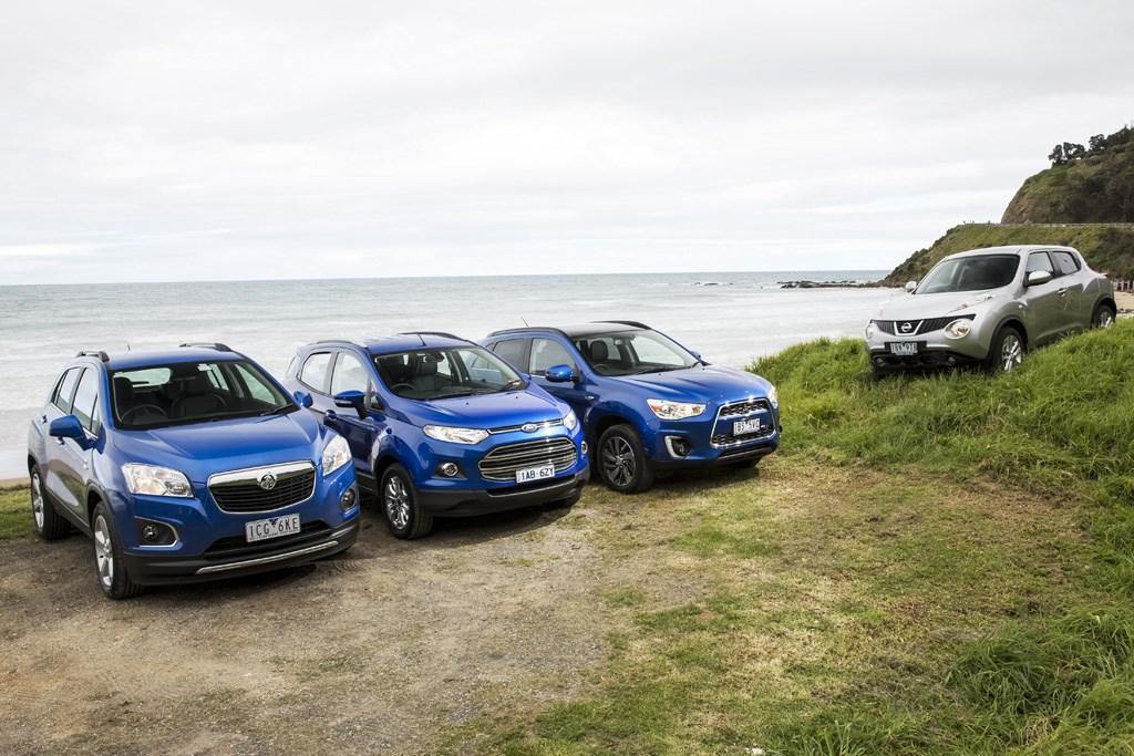 2014 Light SUV Comparison: Ford EcoSport v Holden Trax v Mitsubishi