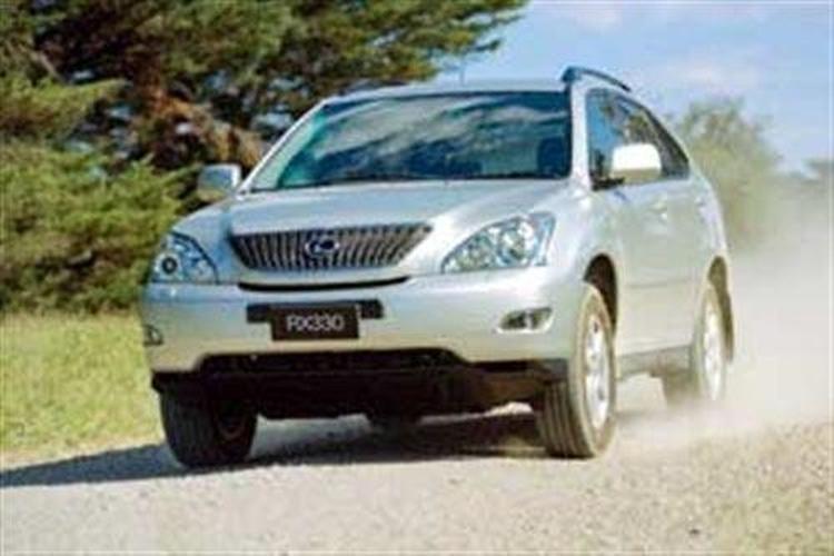 Lexus RX330 (2003-) - www carsales com au
