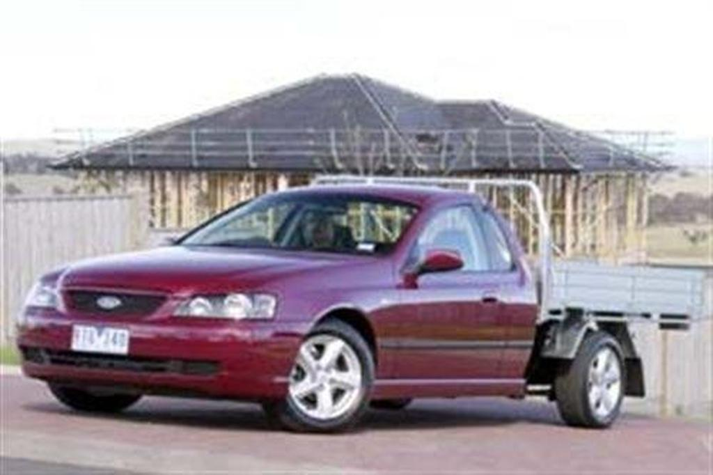 Ford BA Falcon cab chassis Ute - www carsales com au