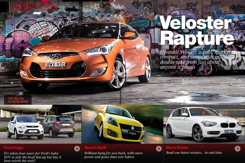 Once Driven Reviews >> Motoring Ipad Issue 17 Out Now Www Carsales Com Au